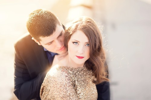 Glam Engagement Session|Cape Girardeau, MO Wedding Photographer